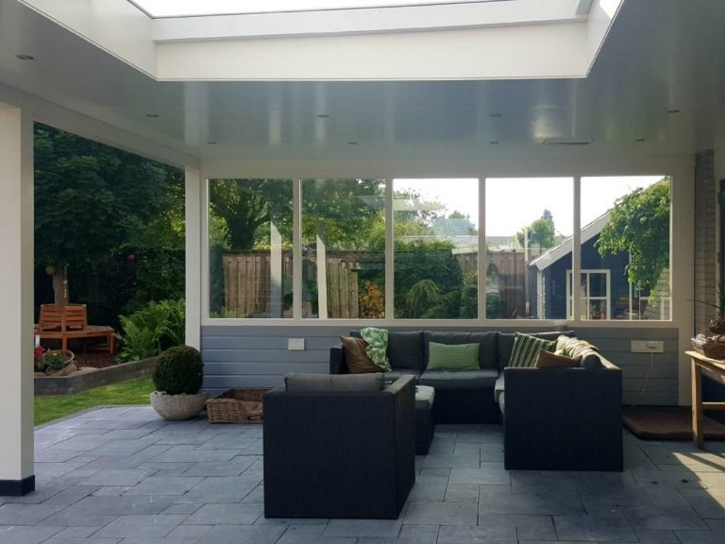 Luxe veranda Dronten - Lessenaar