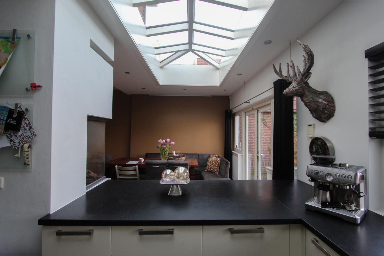 Schilddak in keuken te Gorinchem